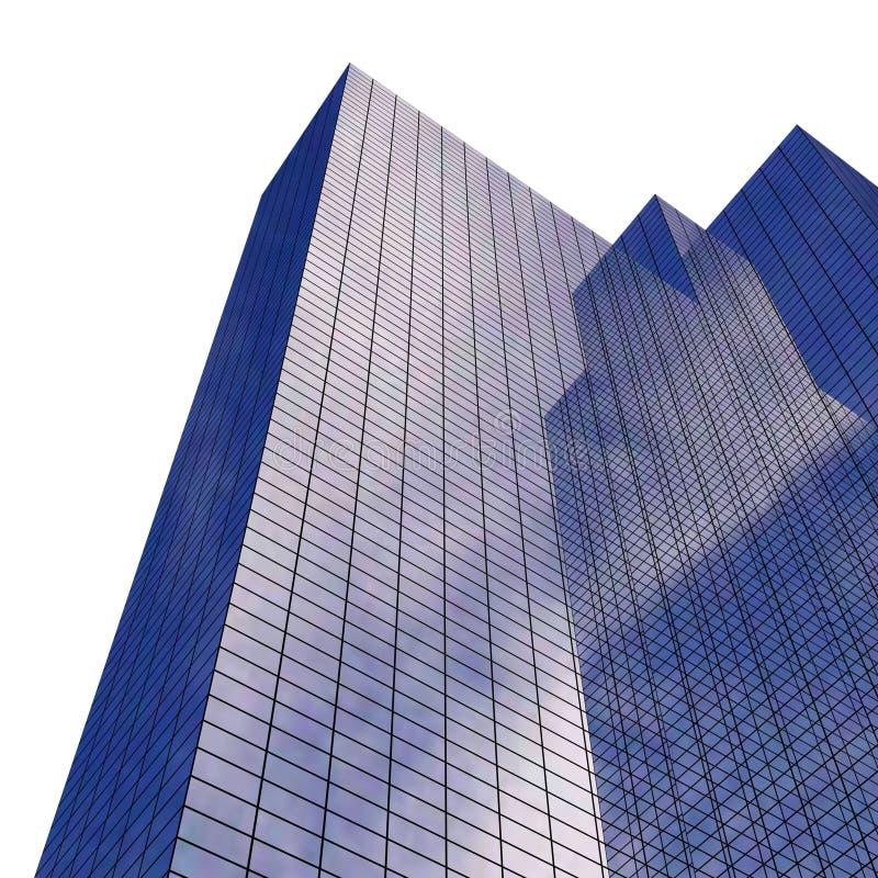 Unternehmensgebäude stock abbildung
