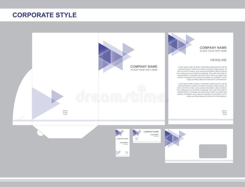 Unternehmensidentitä5, Geschäft, brennend, Werbung ein lizenzfreie abbildung