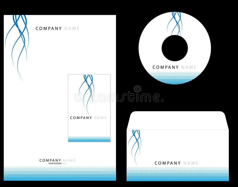 Unternehmensidentitä5 lizenzfreie abbildung