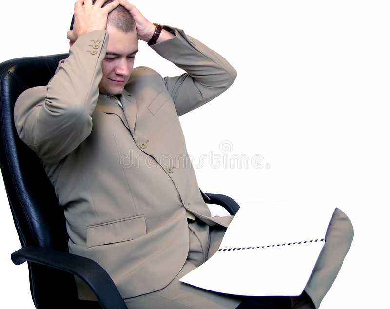 Unternehmensprobleme stockfoto