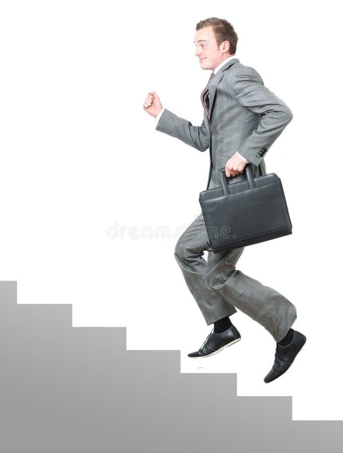 Unternehmensstrichleiter stockfoto