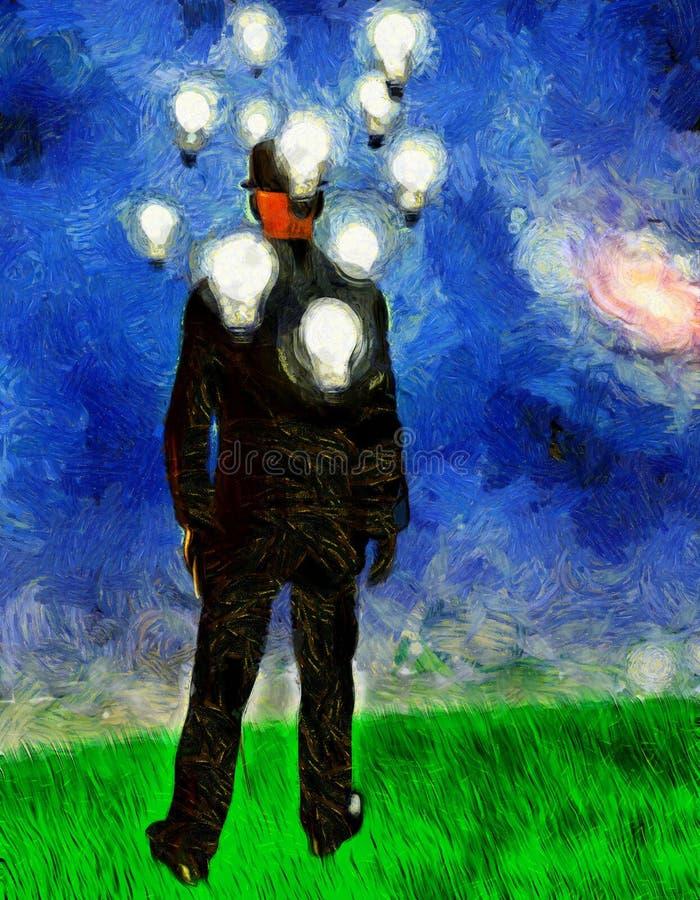 Unternehmer Ideas vektor abbildung