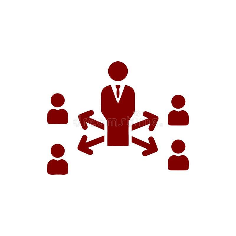 Unternehmerische Entscheidung, Unternehmensplan, Beschlussfassung, Management, Teamentscheidung, Plan, Planung, kastanienbraune I stock abbildung