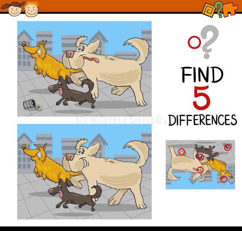 Unterschiedlernspiel vektor abbildung