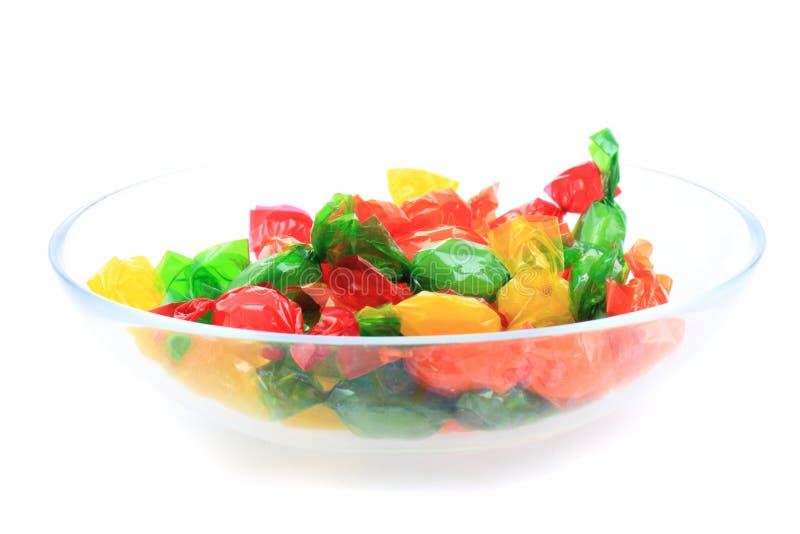 Unterschiedliches Bonbon des Bonbons stockfotografie