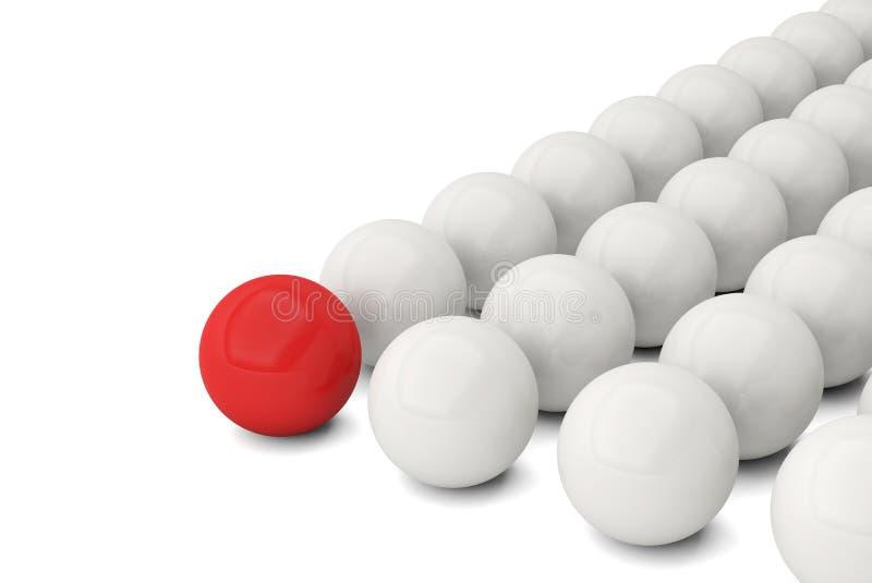 Unterschiedliches einzigartiges Führungsbereich-Erfolgsgeschäft vektor abbildung