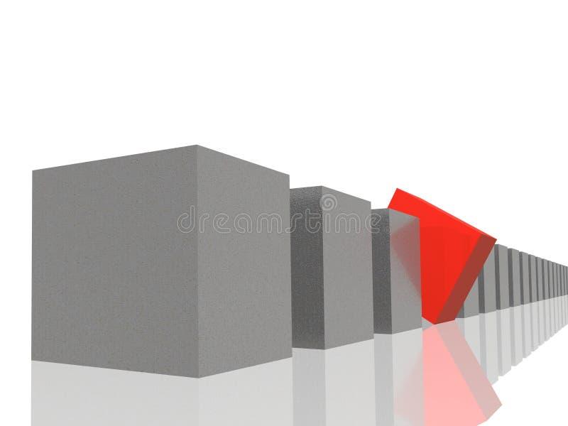 Unterschiedliches Element stock abbildung