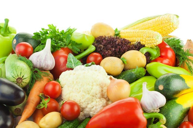 Download Unterschiedliches Gemüse/große Zusammenstellung Der Nahrung Stockbild - Bild von gruppe, mais: 26352383