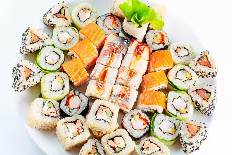 Unterschiedliches japanisches Lebensmittel lizenzfreie stockfotografie