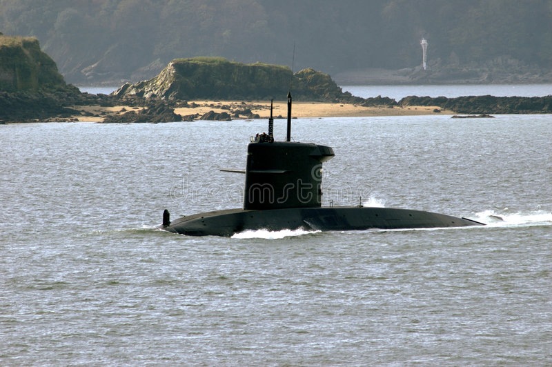Unterseeboot lizenzfreie stockbilder