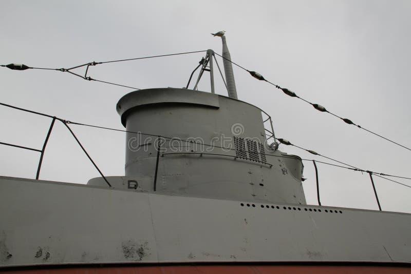 Unterseeboot des zweiten Weltkriegs lizenzfreie stockfotos