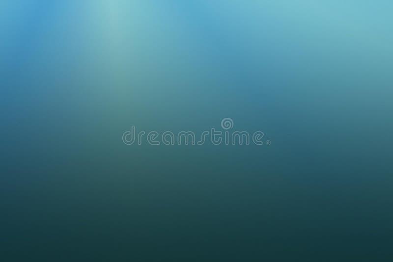 Unterseeische Wasser-Ozean-Seehintergrund-Abbildung vektor abbildung
