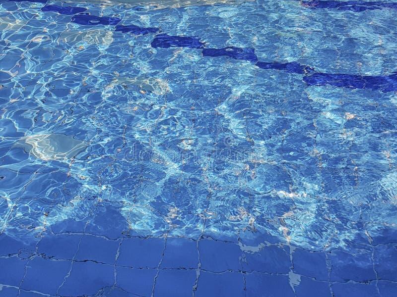 Unterseite des Pools stockfoto
