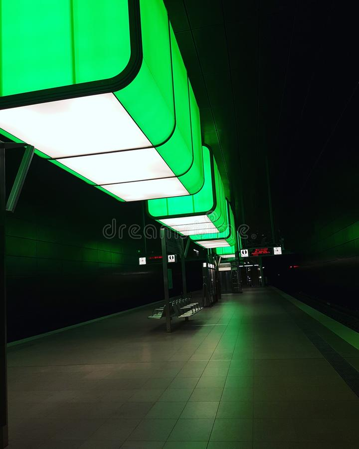 UNTERTAGE-HAMBURG lizenzfreies stockbild