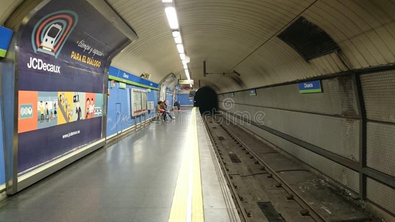 Untertage-Madrid stockfotos