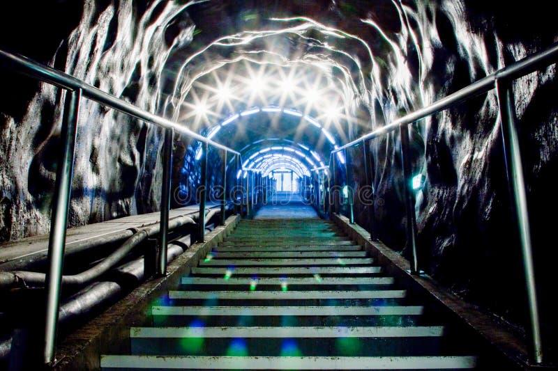 Untertagefreizeitpark im Salzbergwerk Salina Turda stockfoto