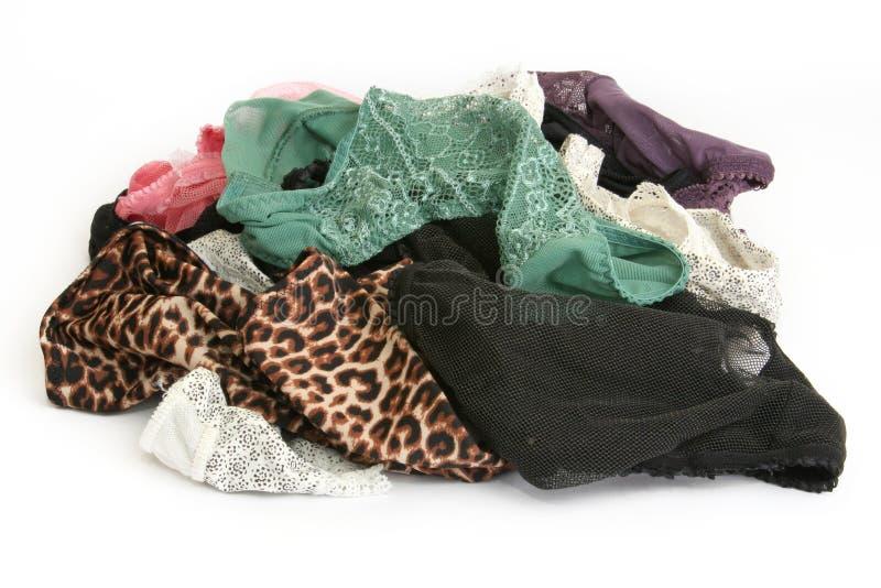 Unterwäschewäscherei stockfoto