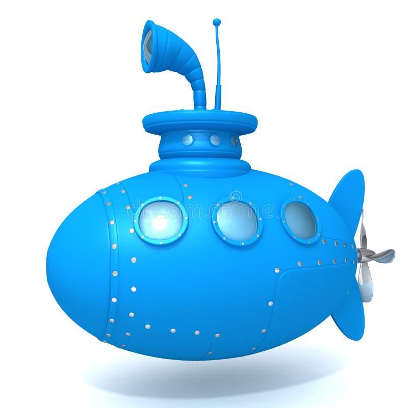 Unterwasser-Illustration 3d lizenzfreie abbildung
