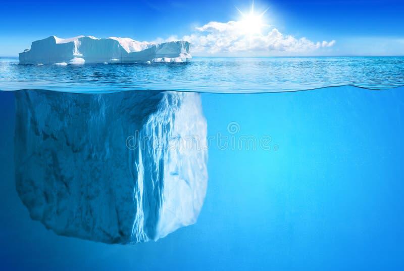 Süd- und Nordpol und alle Sachen bezogen sich lizenzfreie stockfotos