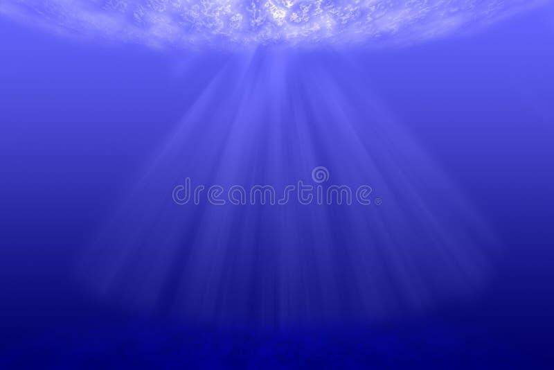 Unterwasserhintergrund. lizenzfreies stockbild