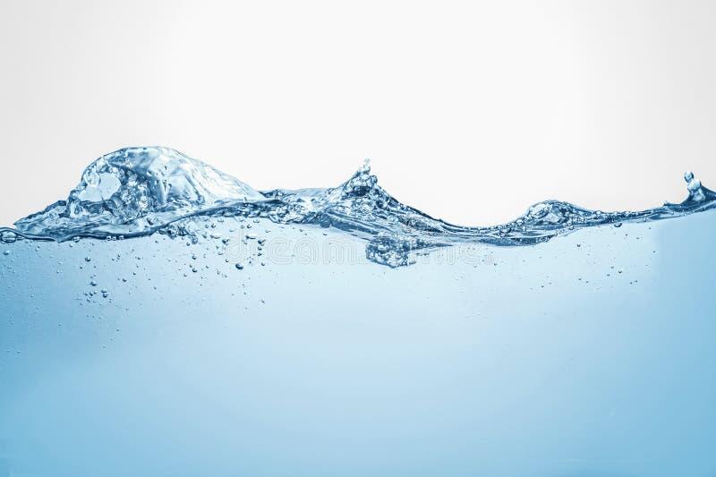 Unterwasserozeanszene strom Wellenphotographie blauen Wassers lizenzfreie stockbilder