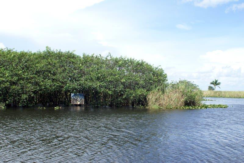 Unterzeichnen Sie herein Everglades-Nationalpark, Florida, USA stockbilder