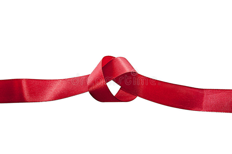 Untie the knot stock image
