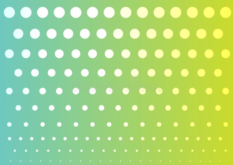 Colorful abstract dots background. Colorful abstract dots pattern background vector illustration