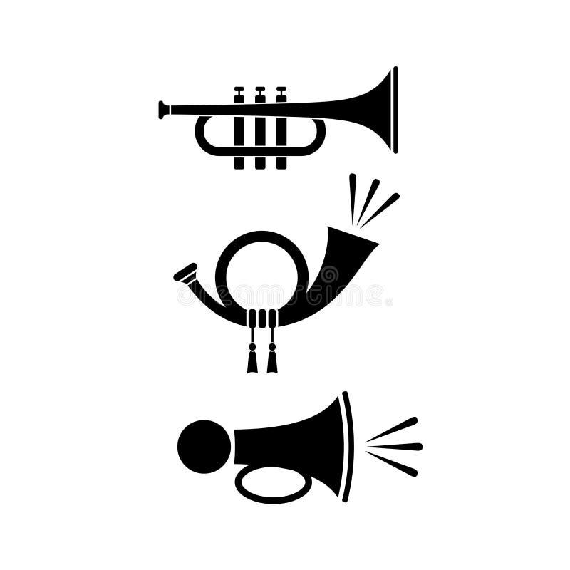 Sound horn icon vector illustration