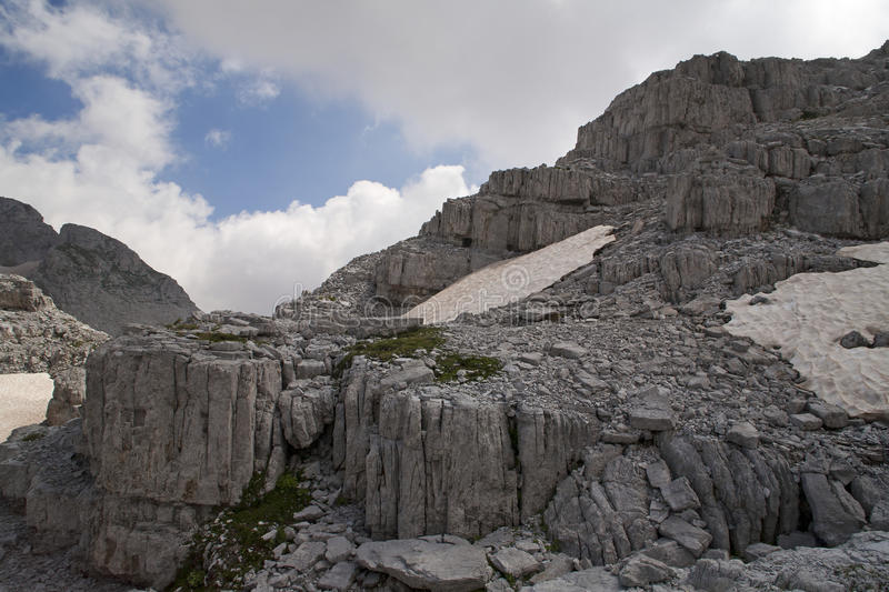 Download Untouched Albanian Alps stock photo. Image of scene, hiking - 33065088