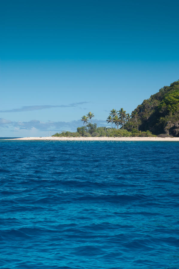 Download Untouched Beach stock photo. Image of fiji, south, coconut - 16696796