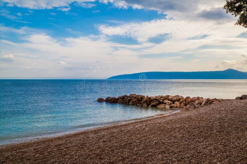Untouched beach in Croatia. Shot of Untouched beach in Croatia stock images