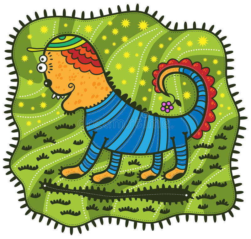 Unusual animal vector illustration