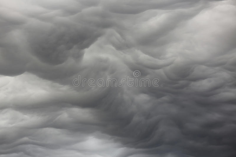 Unusual clouds stock images