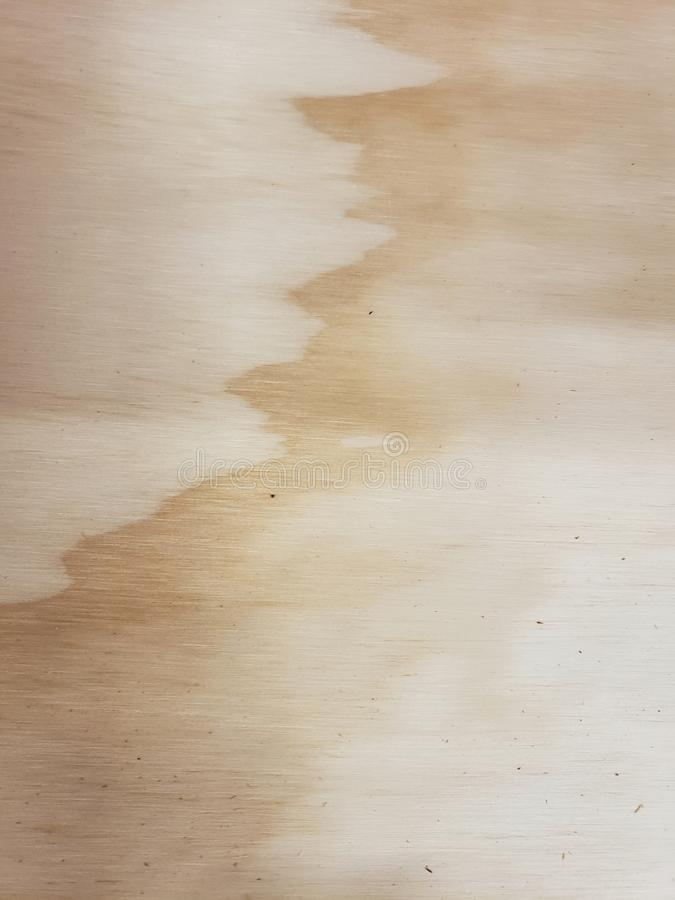 Unusual contrasting pattern in plywood. Unique results are the norm when tress are processed into plywood. This image show an example of those results royalty free stock photos