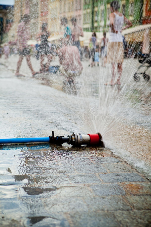 Unusual Coolness On Hot Days Stock Photos