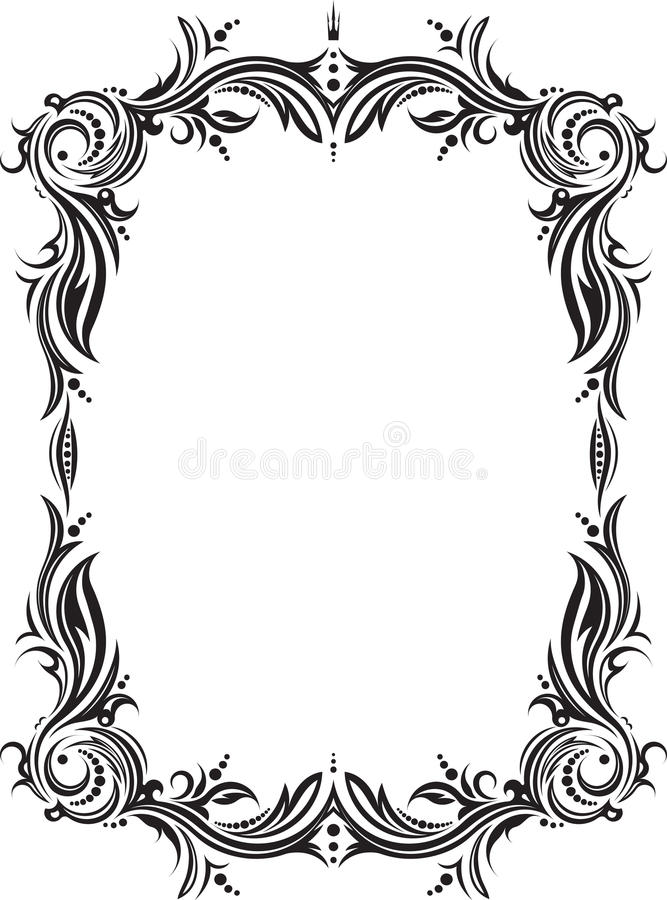 unusual decorative lace ornament vintage frame with empty plac rh dreamstime com lace vector background lace vector file