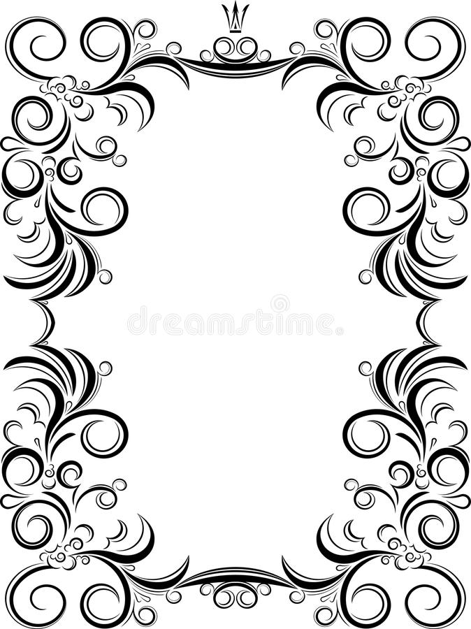 unusual decorative lace ornament vintage frame with empty plac rh dreamstime com lace vector free illustrator lace vector free download