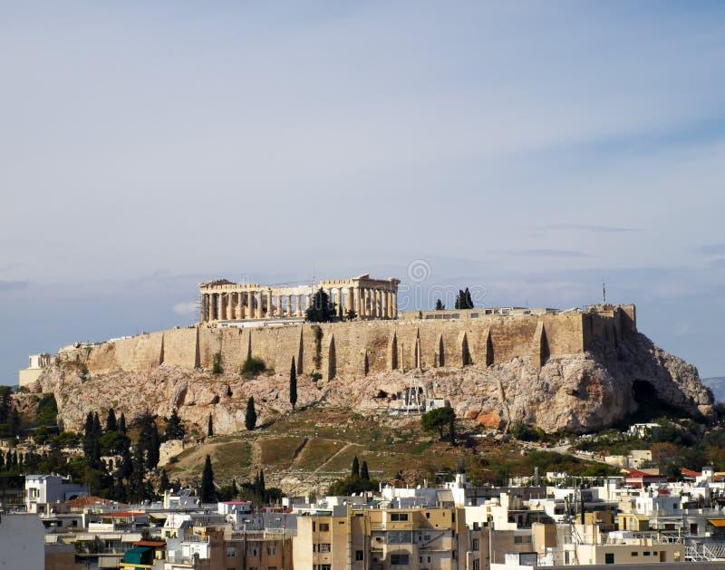 Unusual View Of Parthenon Royalty Free Stock Photo