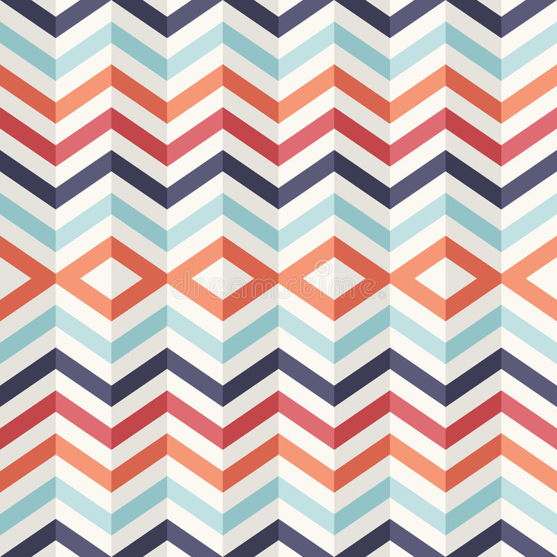 Free Unusual Vintage 3D Effect Abstract Geometric Pattern. Stock Photography - 33271492