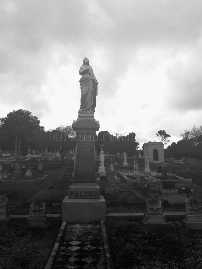 An unusually eerie day at the cemetery in Vallejo California. Very, strange, day, cemetery, eerie, spooky, creepy, haunting, vallejo stock images