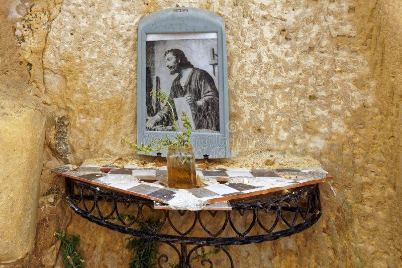 Unvisited Religious Shrine royalty free stock photos