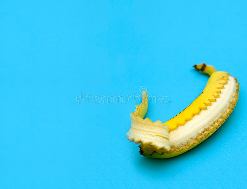 Download Unzipped Banana stock image. Image of diet, fruit, conceptual - 23774791