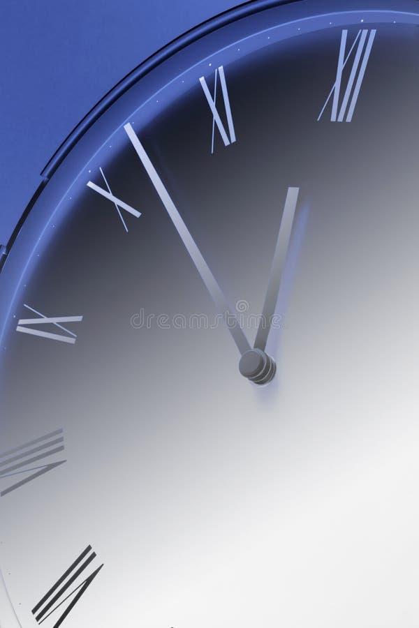 Download Uo vicino dell'orologio fotografia stock. Immagine di mani - 7317924