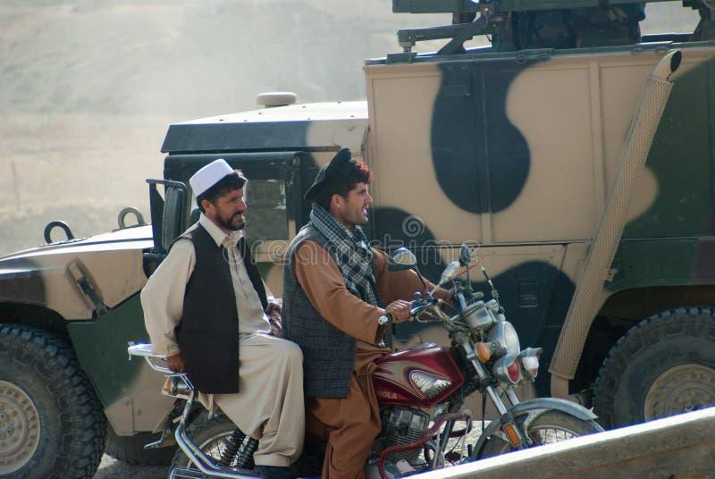 Uomini afgani fotografia stock