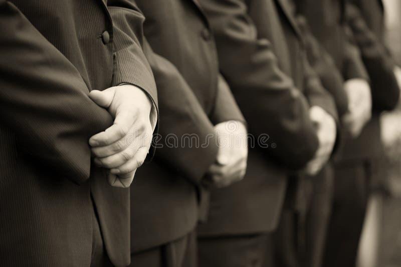 Uomini alla cerimonia nuziale immagini stock libere da diritti