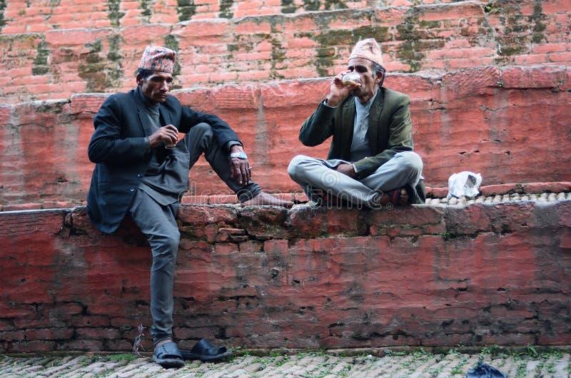 Uomini del Nepali immagine stock libera da diritti