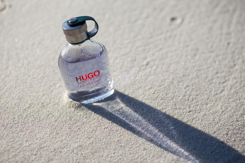 Uomini del profumo del capo di Hugo fotografia stock