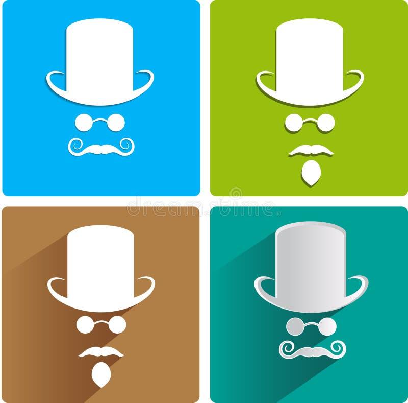 Download Uomini invisibili illustrazione vettoriale. Illustrazione di personalità - 56880298