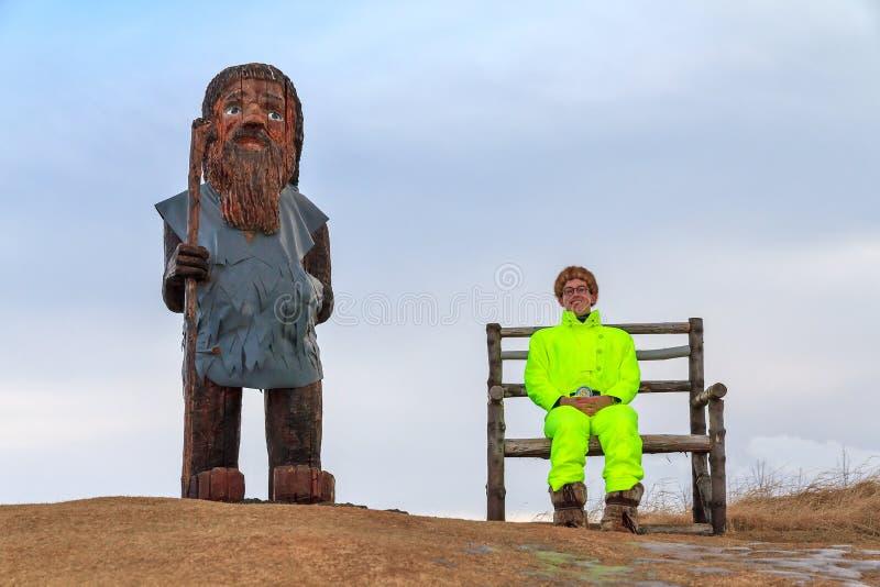Download Uomini islandesi immagine stock. Immagine di umano, scultura - 56886609